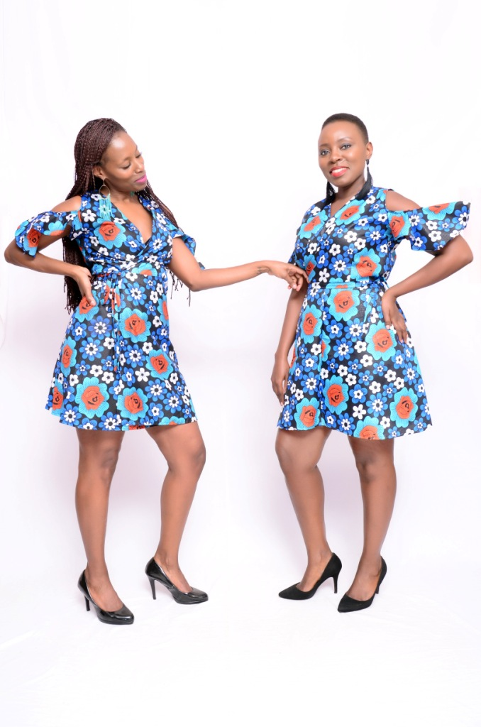 Floral African Dress